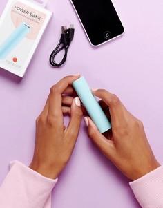 Портативное зарядное устройство для телефона Signature - Синий