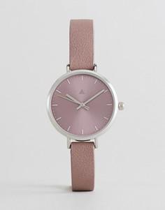Часы с зеркальным циферблатом ASOS - Фиолетовый