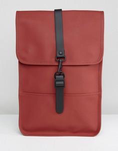 Миниатюрный рюкзак Rains - Красный