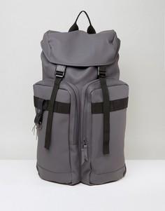Рюкзак в стиле милитари Rains - Серый