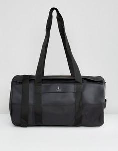 Черная сумка дафл Rains - Черный