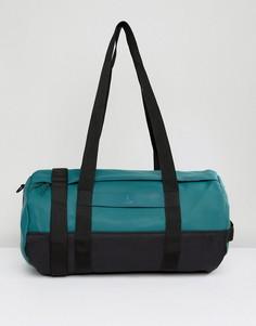Сине-зеленая сумка-дафл Rains - Зеленый