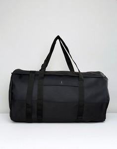 Черная дорожная сумка дафл Rains - Черный
