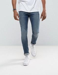 Синие джинсы скинни ASOS - Синий