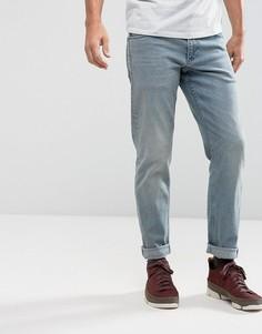 Голубые эластичные джинсы узкого кроя в винтажном стиле ASOS - Синий