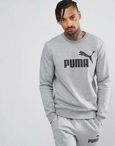 Серый свитшот с круглым вырезом Puma ESS No.1 83825203 - Серый