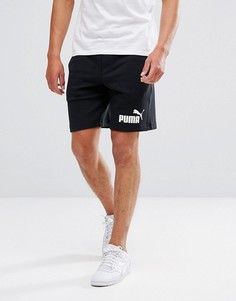 Черные трикотажные шорты Puma ESS No.1 83826101 - Черный