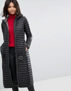 Дутое пуховое пальто Esprit - Черный