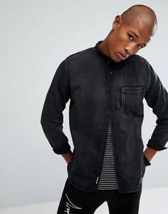 Джинсовая рубашка Cheap Monday Give - Серый
