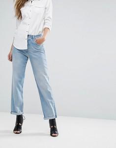 Свободные джинсы бойфренда с завышенной талией Replay - Синий