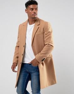 Шерстяное пальто ASOS - Рыжий