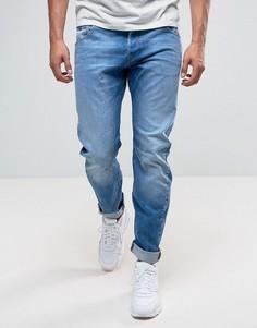 Светлые узкие джинсы G-Star Arc 3D - Синий