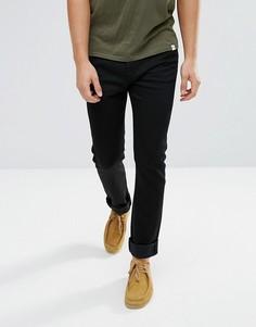 Темные джинсы скинни прямого кроя Edwin ED-90 - Синий