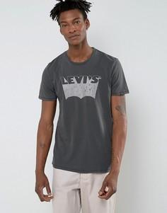 Футболка с логотипом Levis Sharpie - Черный Levis®