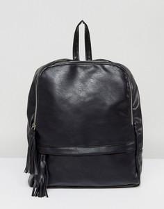 Рюкзак с молнией Liquorish - Черный
