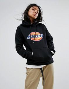 Oversize-худи с логотипом Dickies - Черный