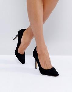 Туфли-лодочки с острым носком Head Over Heels by Dune Allice - Черный