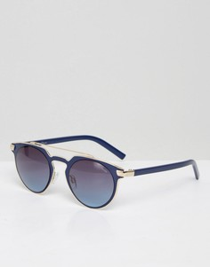 Солнцезащитные очки с планкой Black Phoenix - Темно-синий