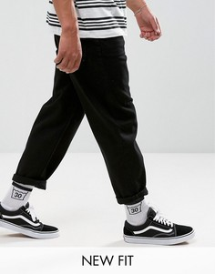 Черные свободные джинсы ASOS - Черный