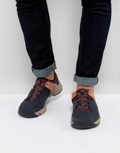 Походные кроссовки Clarks Tritrack Lo - Темно-синий