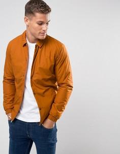 Теплая спортивная куртка Selected Homme - Оранжевый