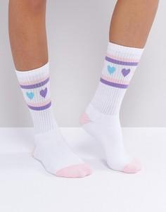 Носки Lazy Oaf - Белый