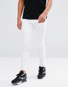 Бежевые джинсы скинни Brooklyn Supply Co - Белый