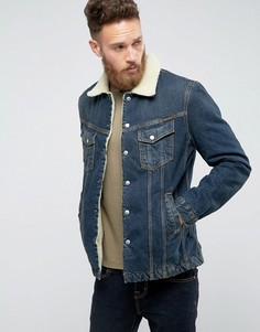 Джинсовая куртка Nudie Jeans Co Lenny - Темно-синий