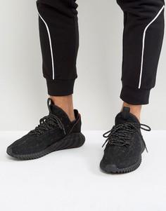 Черные кроссовки adidas Originals Tubular Doom Sock Primeknit BY3559 - Черный