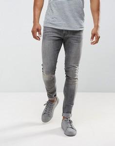 Серые джинсы скинни Just Junkies - Серый