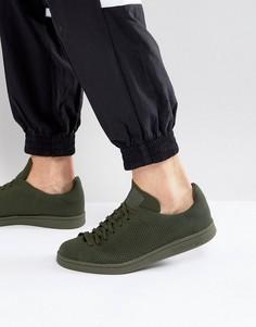 Зеленые кроссовки adidas Originals Stan Smith BZ0120 - Зеленый