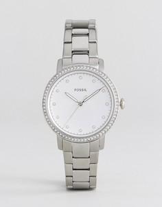 Наручные часы серебристого цвета Fossil ES4287 - Серебряный