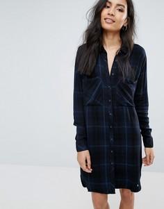 Платье-рубашка в полоску Pepe Jeans Louise - Темно-синий