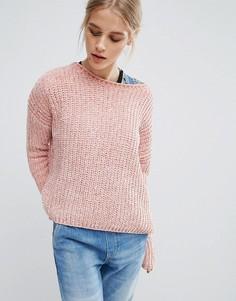 Вязаный джемпер Pepe Jeans Chana - Розовый