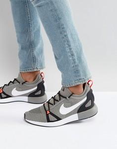 Серые кроссовки Nike Duelist Racer 918228-008 - Серый