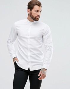 Белая оксфордская рубашка классического кроя с воротником на пуговицах BOSS Orange by Hugo Boss Easy 1 - Белый