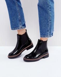 Черные ботинки челси на толстой подошве Glamorous - Черный