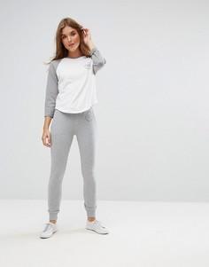Спортивные штаны скинни Jack Wills Bakershill - Серый
