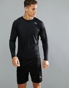 Черный лонгслив Puma Running 51501001 - Черный