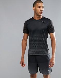 Черная футболка с графическим принтом Puma Running 51555401 - Черный