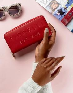 Дорожный кошелек с логотипом Fiorelli - Красный