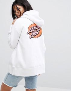 Худи с логотипом Santa Cruz - Белый