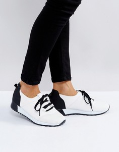 Кроссовки для бега на шнуровке Truffle Collection - Белый