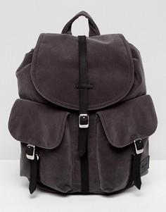 Бархатный мини-рюкзак Herschel Supply Co - Серый