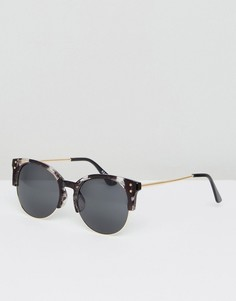 Серые черепаховые солнцезащитные очки AJ Morgan - Серый