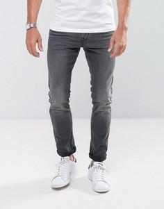 Черные выбеленные джинсы скинни Tom Tailor - Черный