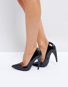Туфли на каблуке с острым носком ASOS PROSECCO - Черный