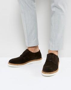 Коричневые туфли дерби Selected Homme - Коричневый