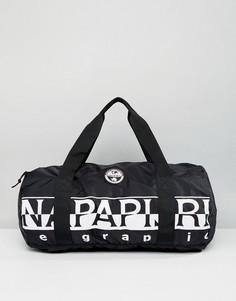 Черная сумка дафл Napapijri Tier 1 Bering - Черный