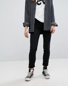 Узкие прямые джинсы с классической талией Lee Elly - Черный